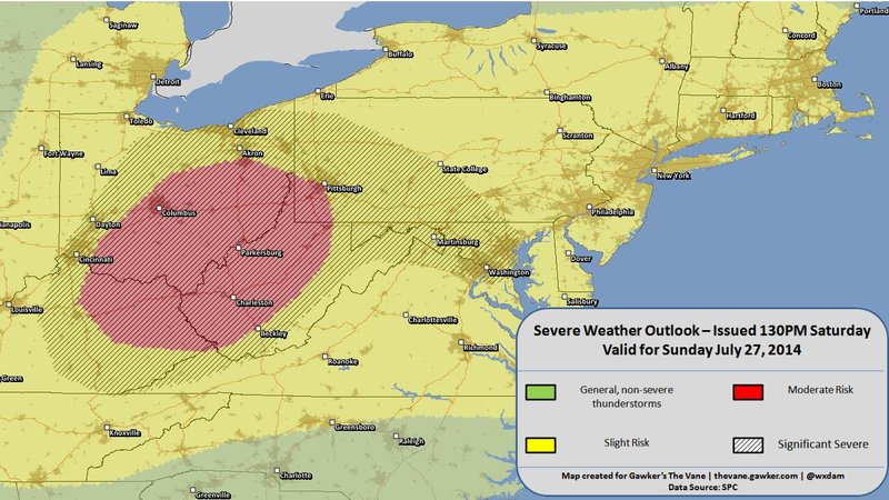 Dangerous Severe Weather Outbreaks Likely Today and Tomorrow