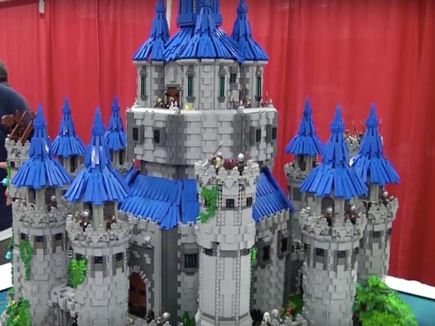Epic Lego Hyrule Castle Took Zelda Superfan Two Years to Build
