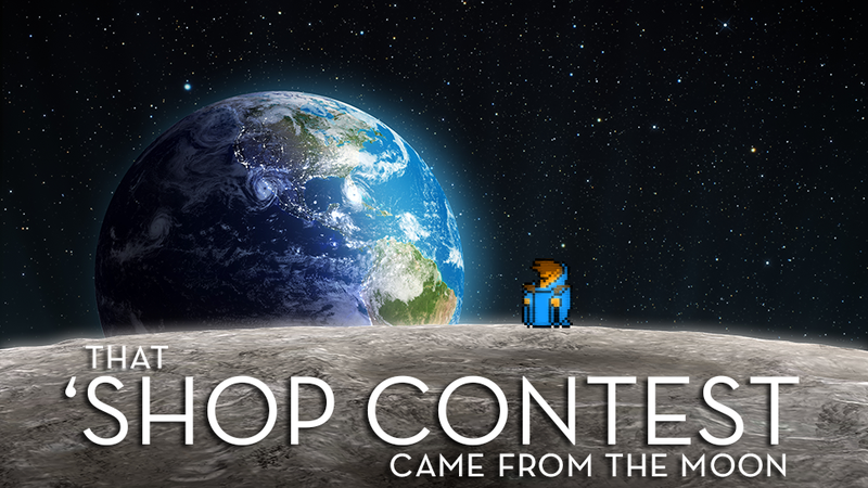 Kotaku 'Shop Contest: That Wizard Came From The Moon