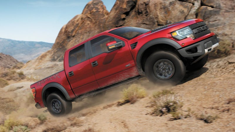 The Ford SVT Raptor Destroys Sales Records Like It Destroys Roads
