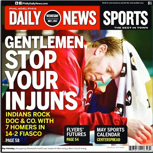 Philly Newspaper Headline Makes Offensive Team Name More Offensive
