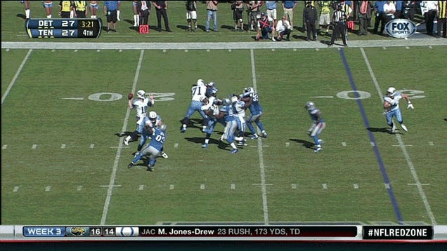Basically Everything Happened In The Titans' OT Win Against The Lions, In Four GIFs