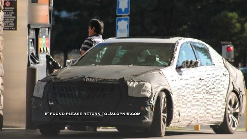 Cadillac Spy Photos