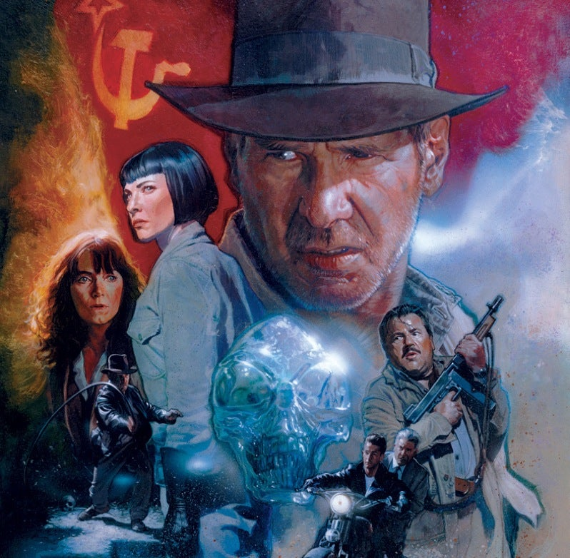 Indiana Jones Clones Self, Becomes A Trio