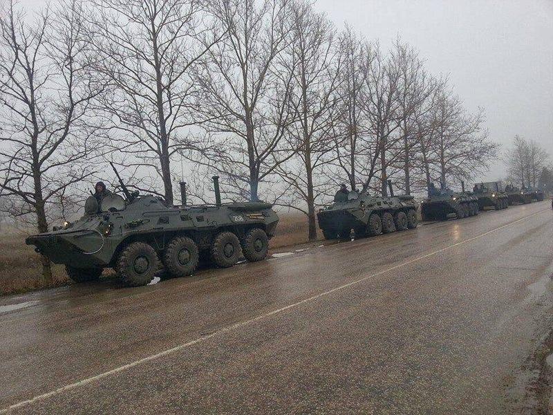 Orosz haditechnika a Krím-félszigeten