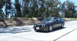 Devil in a Blue Dress Selling BMW E30 Touring for $15,000!