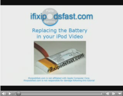 How to replace your iPod's battery