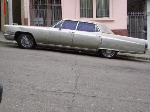 1968 Cadillac Fleetwood Docks In San Francisco