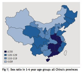 "With 32.7 Million ""Excess Males,"" What Will Become of China?"