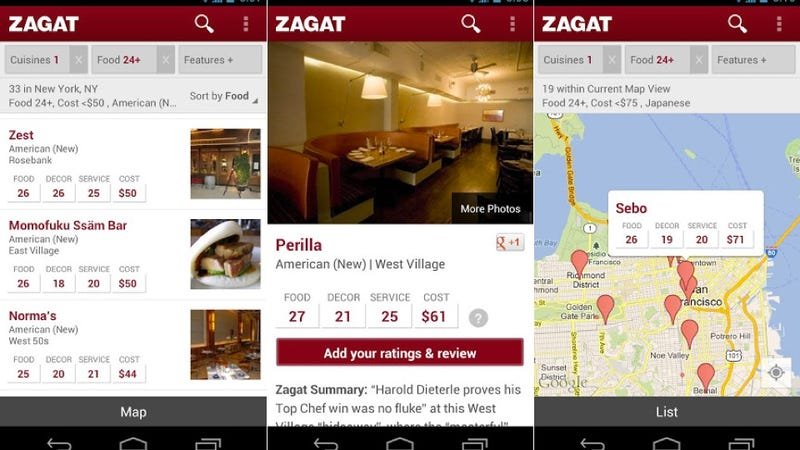 Zagat, Beat Bang, and More