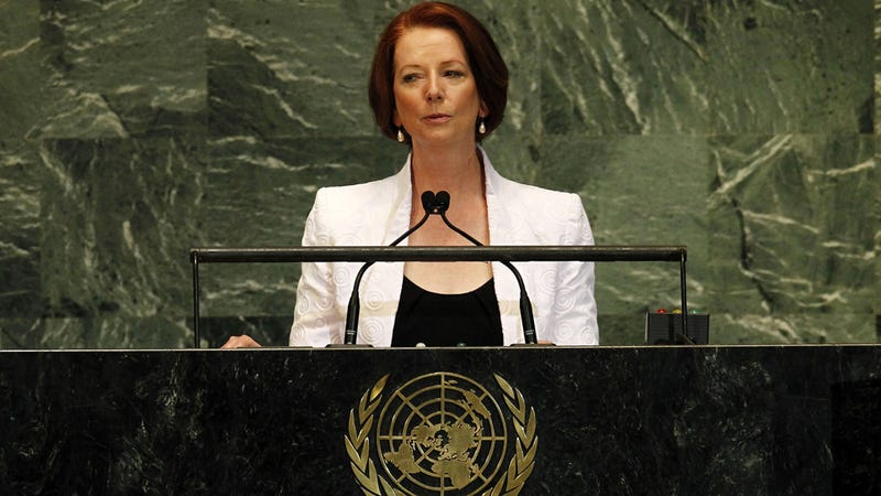 """Australia's Prime Minister Sexually Harassed, Called """"Slut"""" During Internet Q&A Session"""