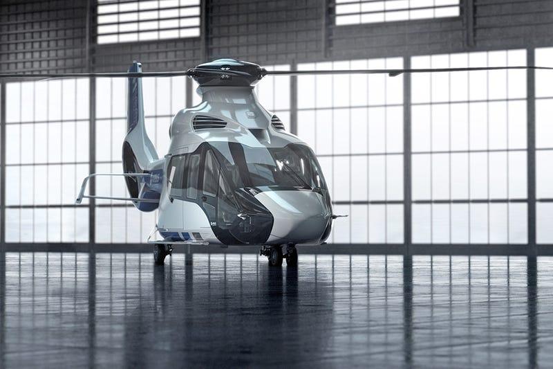 El nuevo helicóptero de Airbus es una pequeña maravilla futurista