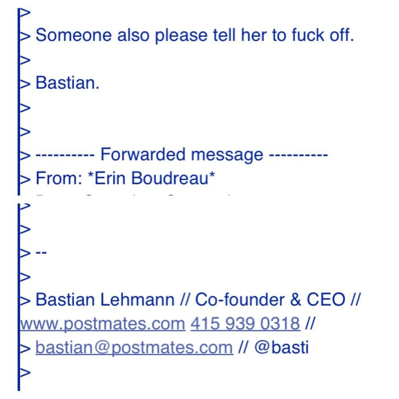 "Startup CEO to Customer: ""Fuck off"""