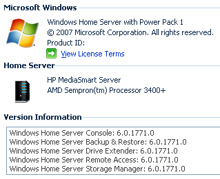 Windows Home Server Power Pack 1 Goes Public Beta