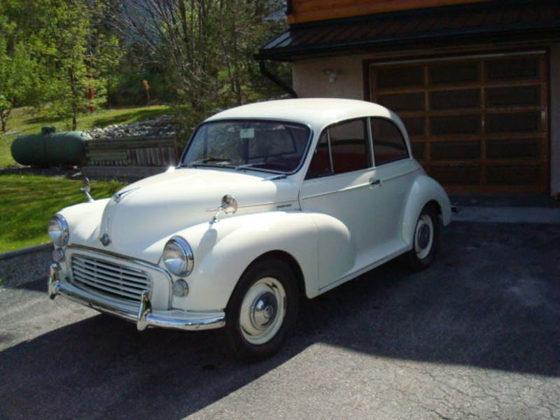 1965 Morris Minor For $13,500 Canadian!