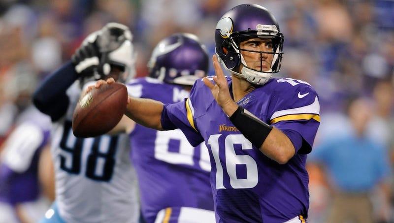 It's Matt Cassel Time For The Vikings