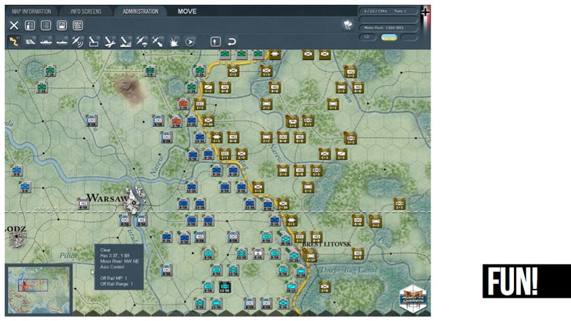 The Immense Pleasure of Huge War Games
