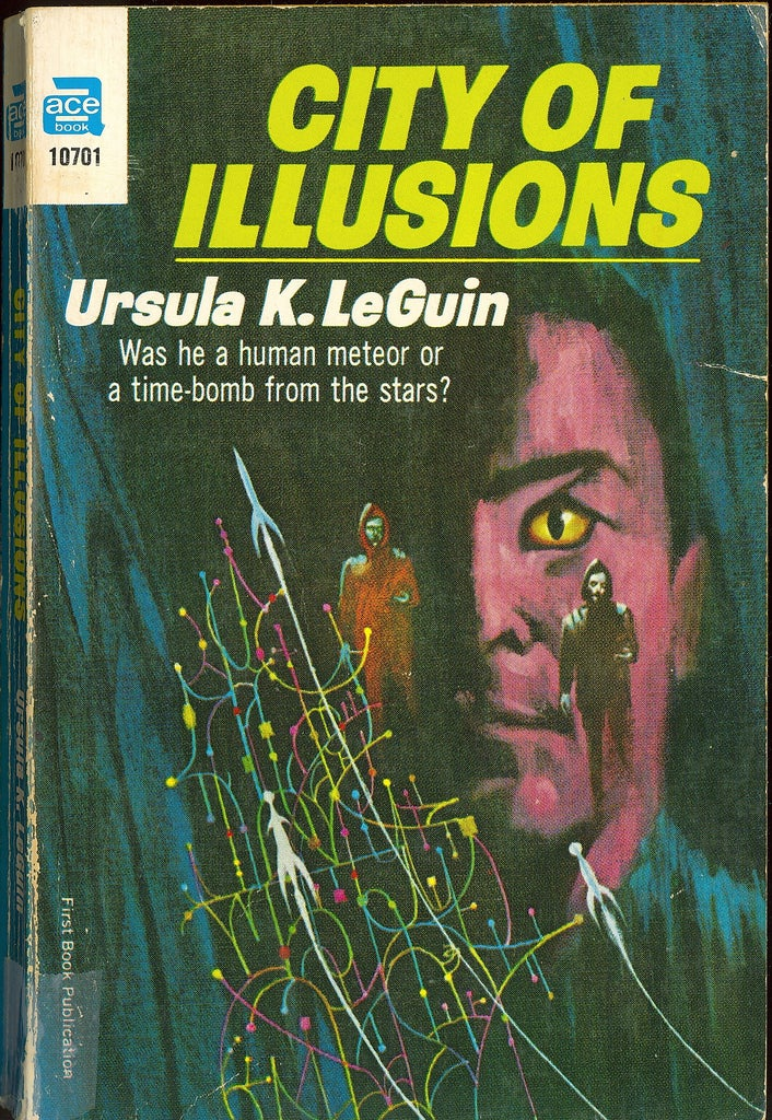 Check out your mind, with awesomely trippy 1960s and 1970s SF book covers!