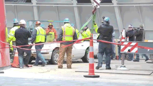 Corvette Museum Gives 1,000,000th Corvette Back To Sinkhole Demons