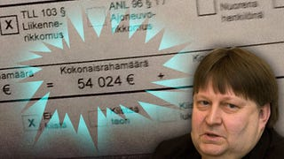 Finland Gives Driver A $60,000 Speeding Ticket