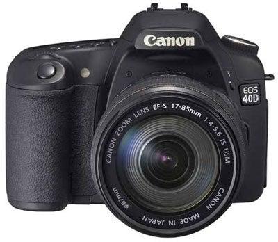 Canon EOS 40D Rumors Run Rampant