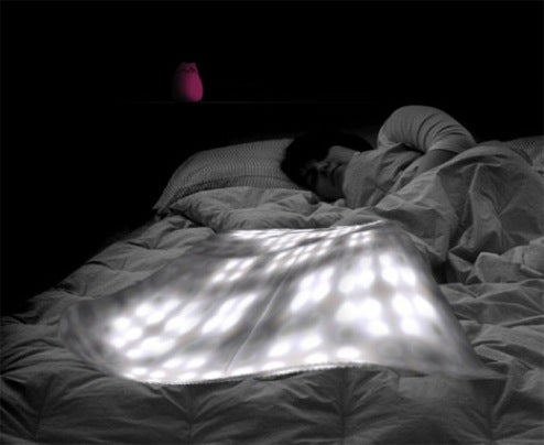 REMY Biometric Blanket Wakes You with News on Your Snooze