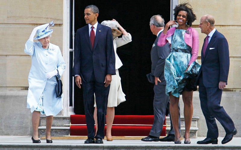 Queen to Michelle Obama: 'I See London, I See France'