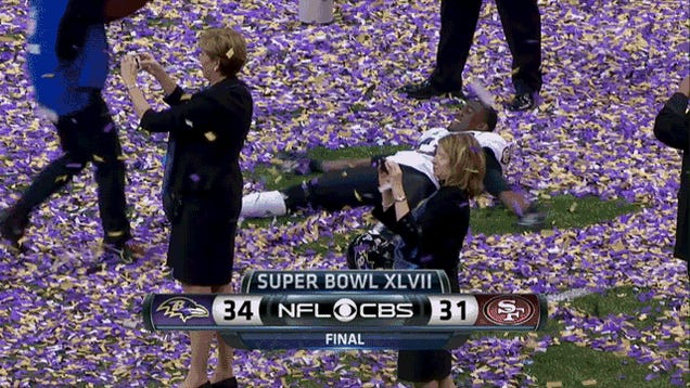 Baltimore 34, San Francisco 31: Your Super Bowl 47 GIF Roundup