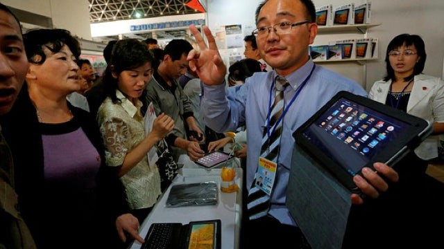 Android's Big in North Korea? First Look at the Country's New Tablet.