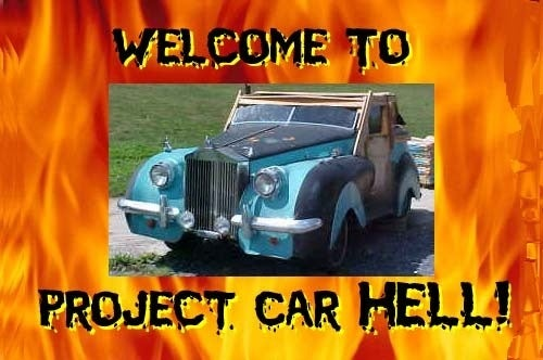 Project Car Hell, No Choice At All Edition: Toronado-Powered Austin Princess!