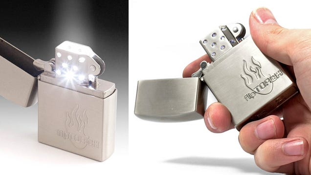 Flip Torch Zippo: All the Light, None of the Burning
