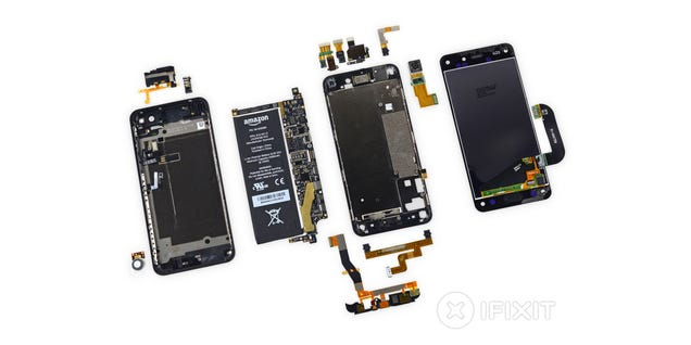 Amazon Fire Phone Teardown: So Many Cameras in Such a Small Space