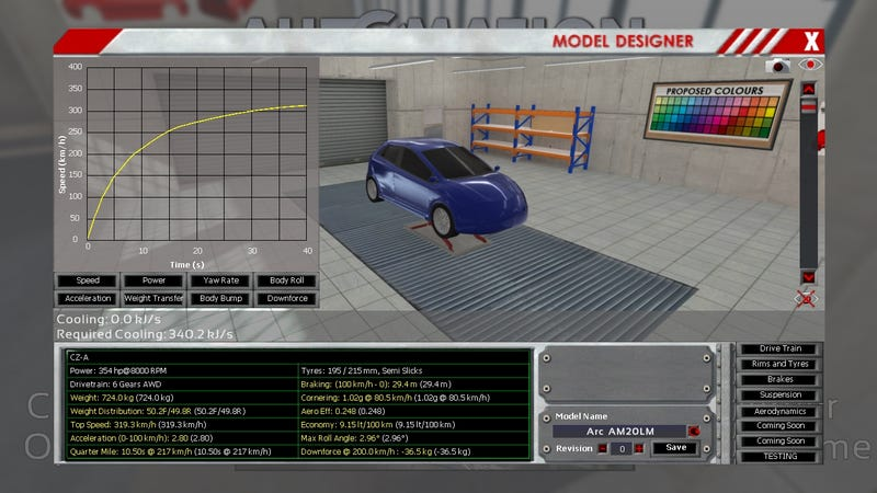 Stupid Car That i Build on Automation..