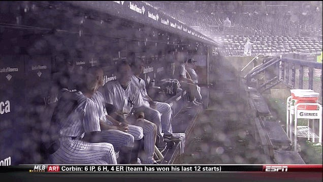 Yankees, Red Sox Scared Of Thunder