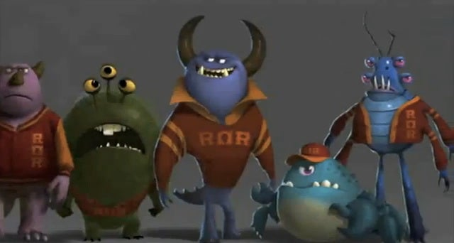 Watch Mike and Sulley pledge Monsters University's lamest frat