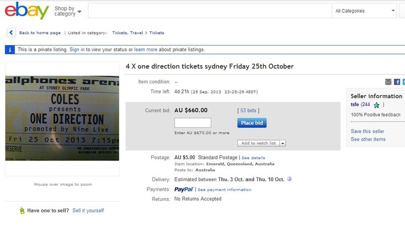 Pissed Off Mom Punishes Daughter by Selling Her One Direction Tickets