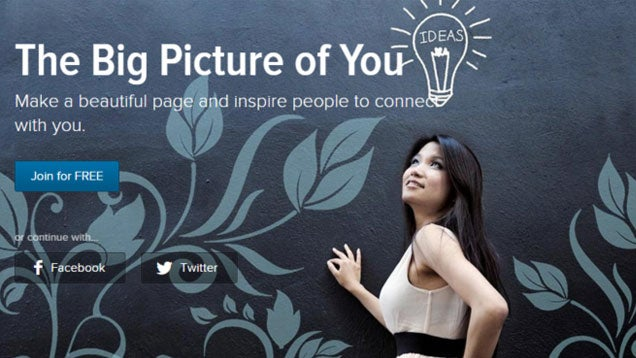 Improve a Boring Online Bio with Image-Rich Words