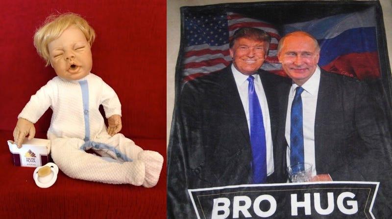Ebay Is a Waking Nightmare of Amateur Trump Art