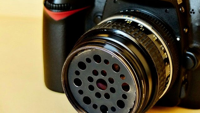 Build a Soft Focus Filter for Your DSLR with a Sink Drainer