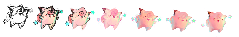 Clefairy! Pokemon One a Day!