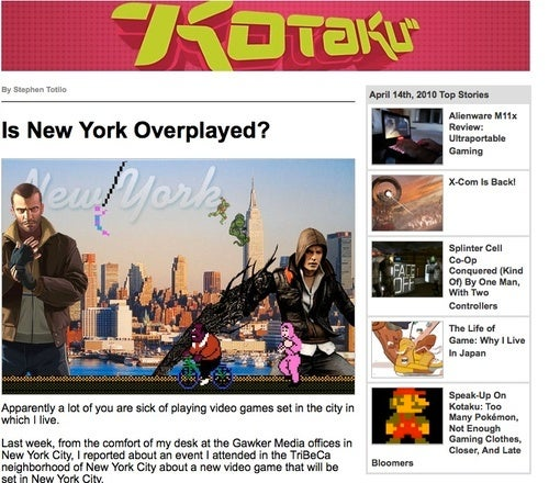 Kotaku In Your Inbox, On Your Twitter And Up In Your Facebook