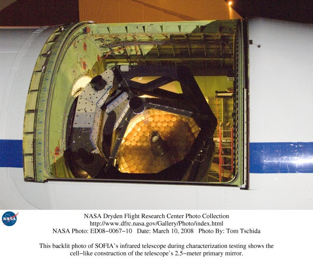 Inside NASA's 747 Flying Telescope