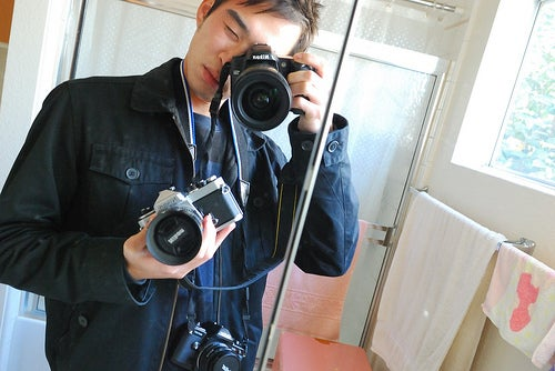 Fetish: 50 Mirror Self Portraits with Cameras In Sight