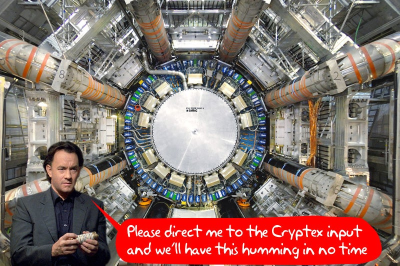 Large Hadron Collider's Restart Button To Be Pressed By Tom Hanks