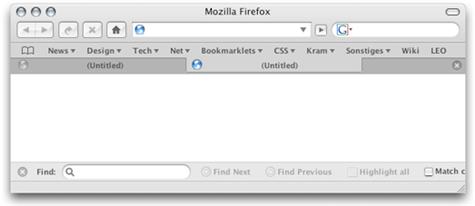 Make Firefox more Mac-like