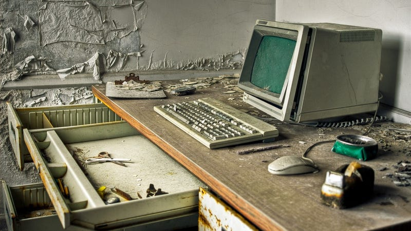What's The Oldest Tech You Have to Deal With at Work?