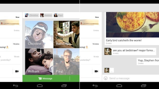 Google Play Music, Hangouts, Kicksend, and More