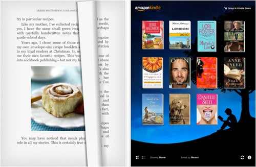 Kindle iPad App Officially Available in iTunes