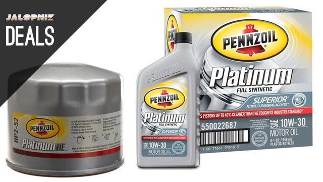 Deals: Free Filter with Oil Purchase, Bluetooth for Your Old Car
