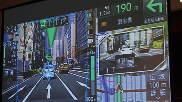 This Augmented Reality Dashboard May Save You From Painfully Real Crashes